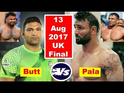 Uk Kabaddi Final Match 2017 Pala Vs Wqas