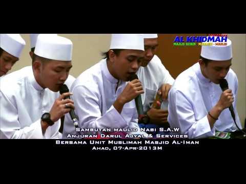 AL KHIDMAH @ Al-Iman Mosque - Qosidah Ayyuhal Mushtaq
