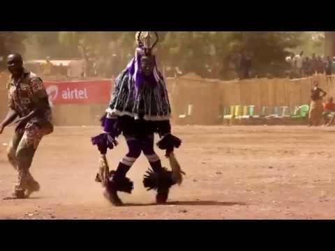 Zaouli dance natural trance