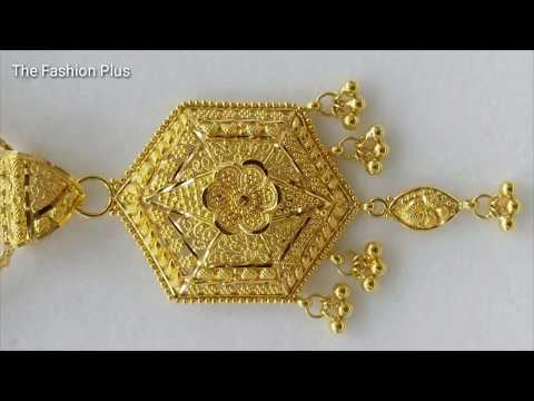 Big Pendant designs In Gold
