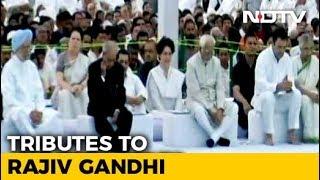Rahul Gandhi, Priyanka Gandhi Vadra Pay Homage To Rajiv Gandhi On His 27th Death Anniversary