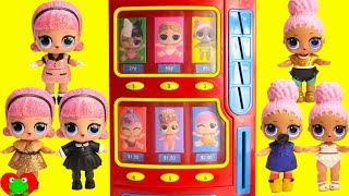 L.O.L. Surprise! Dolls Wrong Clothes Lil Sisters Vending Machine Surprises Toy Video