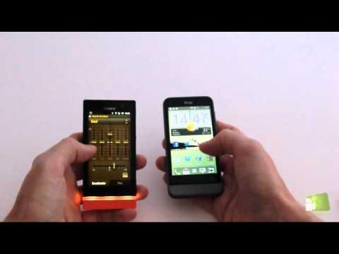 Comparativa HTC One V vs Sony Xperia U (versus en español)   Faqsandroid.com