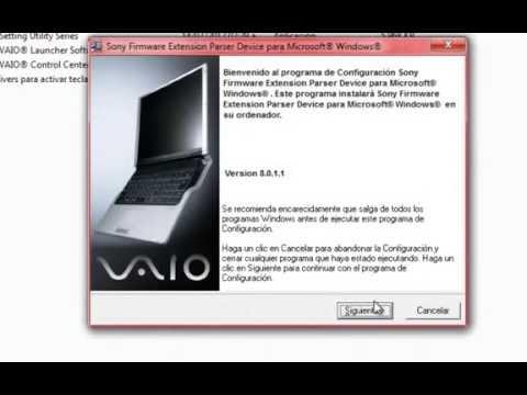 Como Activar Las Teclas Fn en VAIO Con Cualquier Windows
