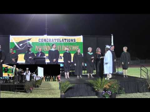 2014 Graduation Ceremony, Palo Verde High School   Blythe, CA