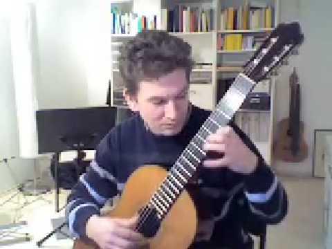 Oliver Eidam spielt 1. Air Varie (op.21) von Giulio Regondi