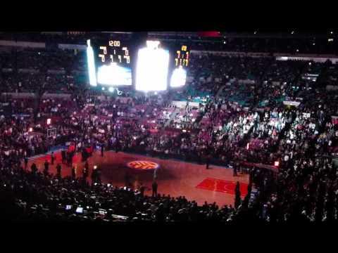 intro New York Knicks - Utah jazz 7/3/2011 Madison Square Garden By Ilbiondo Italy