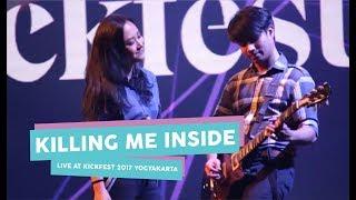 """[HD] Killing Me Inside - Moving On, Kau Dan Aku Berbeda, Hilang """"Garasi"""" (Live at Kickfest 2017)"""