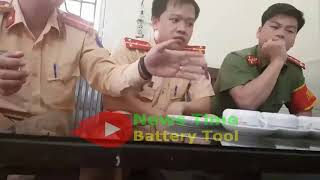 Cận Cảnh Bác Tài Xế Đình Sang làm việc với CSGT Văn Lâm Hưng Yên