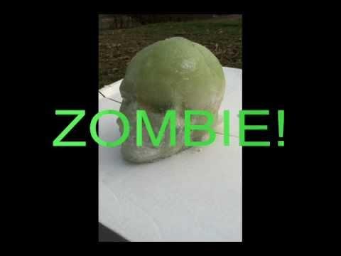 Ballistic Head Ballistics Gel Zombie Head