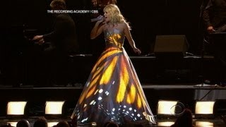 Download Lagu Grammys 2013: Carrie Underwood Dress Designer Don O'Neill Reveals Secrets Gratis STAFABAND