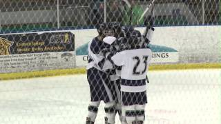 Air Academy vs Aspen playoff hockey highlights
