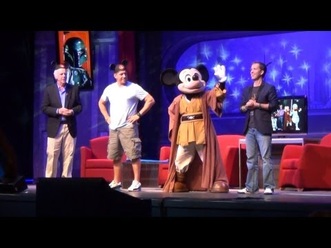 Star Wars Weekends Stars of the Saga Sing Along 2013 w/ Jedi Mickey, James Arnold Taylor