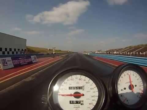 CB600F Hornet VS Fazer 600 Drag Race Shakespeare R