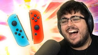 WINNING A SMASH ULTIMATE TOURNAMENT WITH JOY-CONS