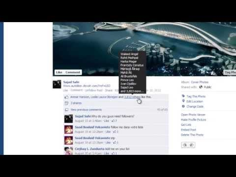 Get 100+ Likes on your Facebook Photos & Statuses 2014