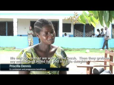 The Transition  from conflict to development in Liberia