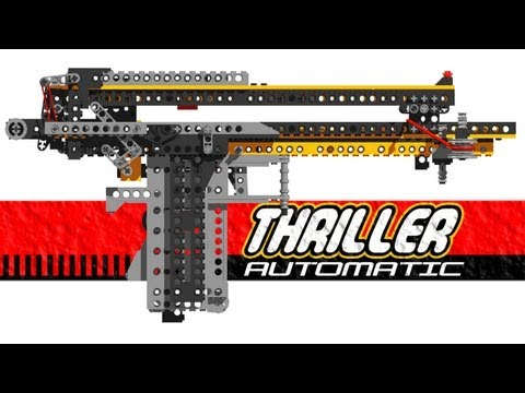 SLIDE ACTION LEGO CROSSBOW PISTOL