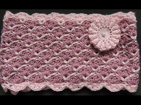 Crochet : Bufanda Infinita # 3