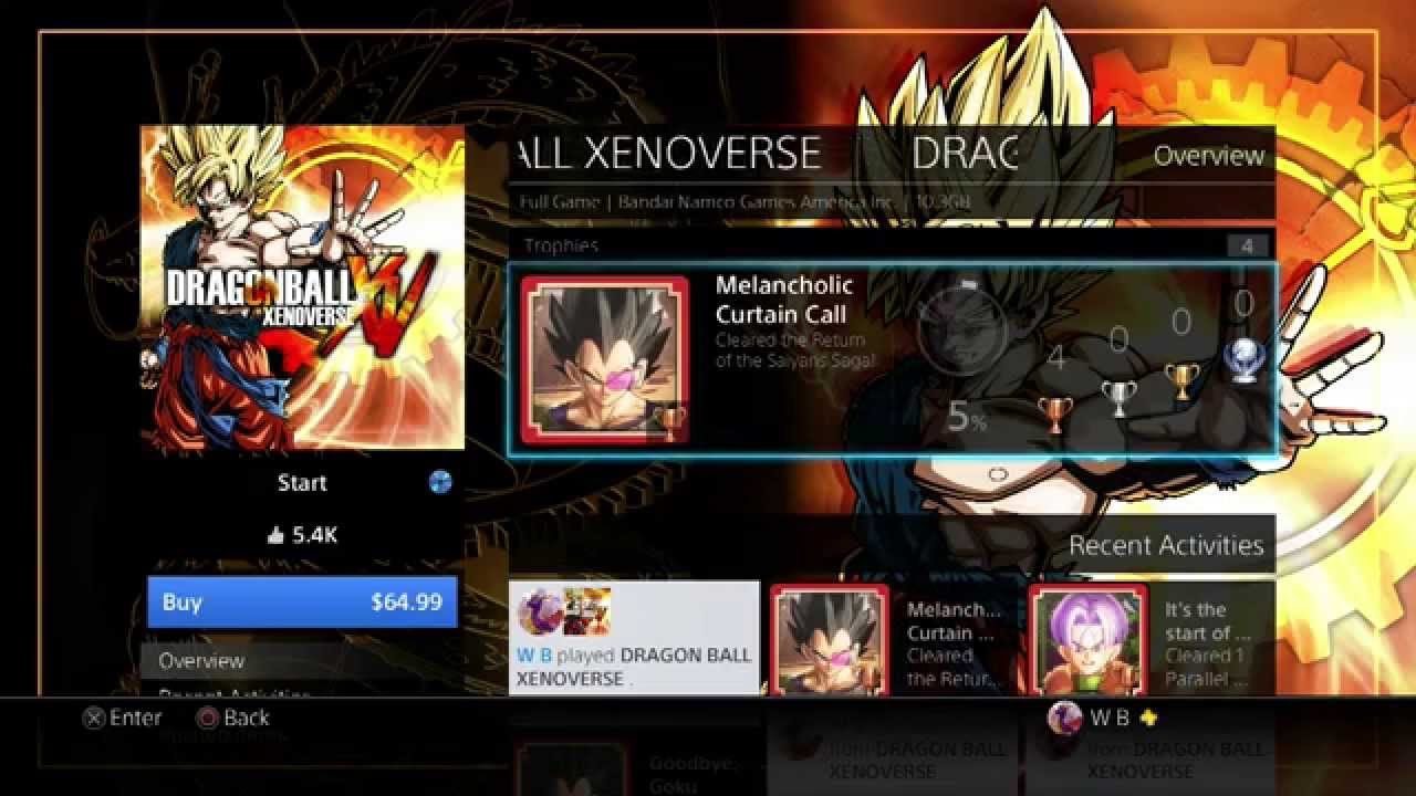 Dragon Ball Xenoverse - DLC