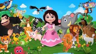 ABC Animal Song for Kindergarten | + More Nursery Rhymes & Educational Songs