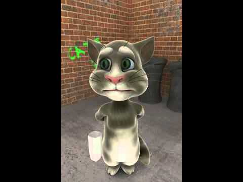 Talking tom aime maman chat et vous les enfants dite je t'aime a vos parents.