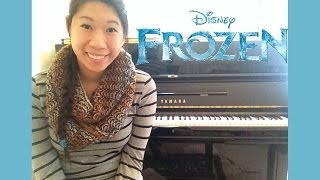 "Agatha Lee Monn Video - Disney's Frozen ""Do You Want To Build A Snowman?"" Piano Cover + Sheet Music"