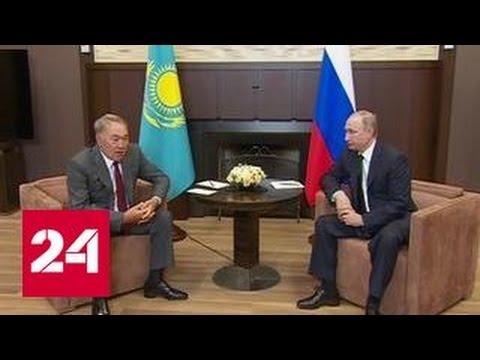 Назарбаев сообщил, что Порошенко не может принять решения по Донбассу