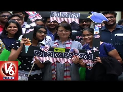 US Consulate Holds Orientation Program For Telugu Students | V6 News