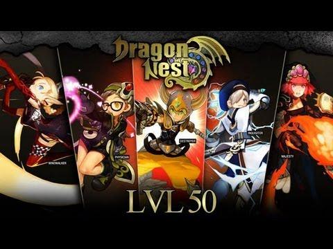 Dragon Nest - PVP Fight(มั่ว).Short Review 6 Job  Ft.Di5trotion.KFC