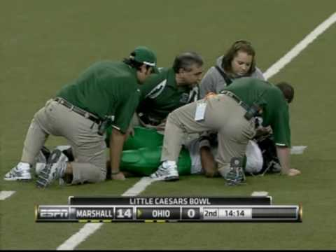 Pam Ward disrespects injured Marshall player live