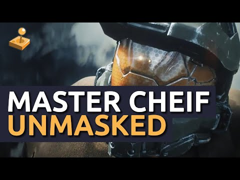 Halo 4 - Master Chief's Face (Unmasked) - Legendary Ending [SPOILER]
