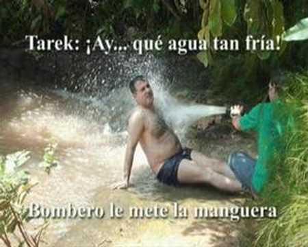 Tarek: ¡Ay...què agua tan fria!