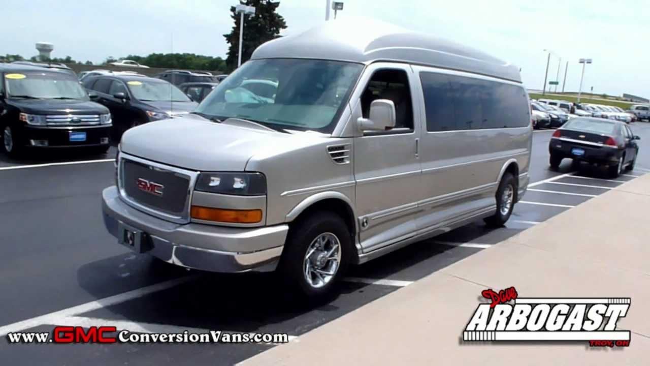 Used Van For Sale >> Used 2008 GMC Savana High Top Conversion Van | Dave Arbogast Van Depot - YouTube