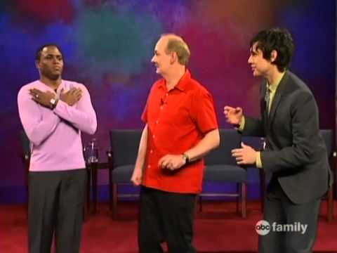 Whose Line Is It Anyway - Number of Words - The Mummy