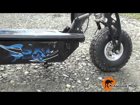 SXT 1000W Turbo 40 Km/H. Trottinette Electrique Nouvelle génération - Kangour'HOP
