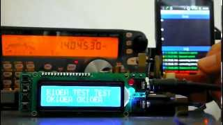 IP remote morse keying with local CW keyer
