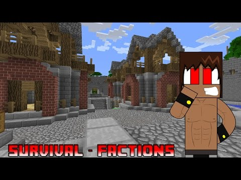 Servidor Minecraft Survival & Factions 1.7.2 - 1.7.4 ★ No Premium 24/7