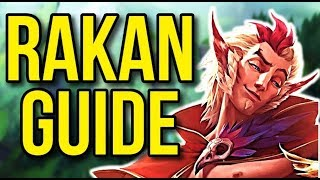 Rakan Challenger Champion Guide | How to Play Rakan Season 8 - League of Legends
