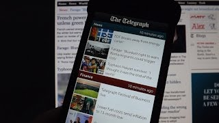 The Telegraph for BlackBerry 10