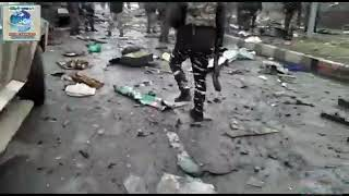 Pulwama attack live video viral