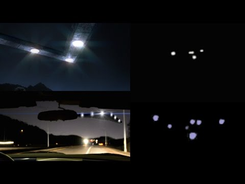 Mysterious Triangle UFO Filmed at Night by Car Driver in Florida - FindingUFO
