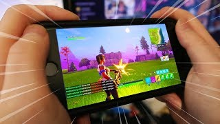 PLAY Fortnite: Battle Royale ON YOUR PHONE! (iPhone & Android) - Mobile Fortnite Concept Gamepla