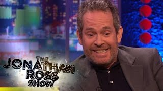 Tom Hollander Gets His Backside Licked by Benedict Cumberbatch - The Jonathan Ross Show
