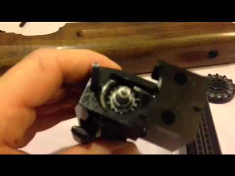 How to remove anti tamper / adjust power on Weihrauch HW100, fix air leaks and convert to 177
