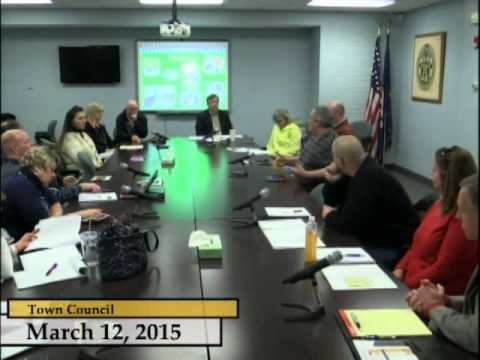 Enfield, CT, USA - Town Council / Board of Education Budget Discussion - March 12, 2015