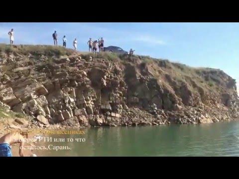 Прыжки в воду,Карьер - г. Сарань. 2015 г.