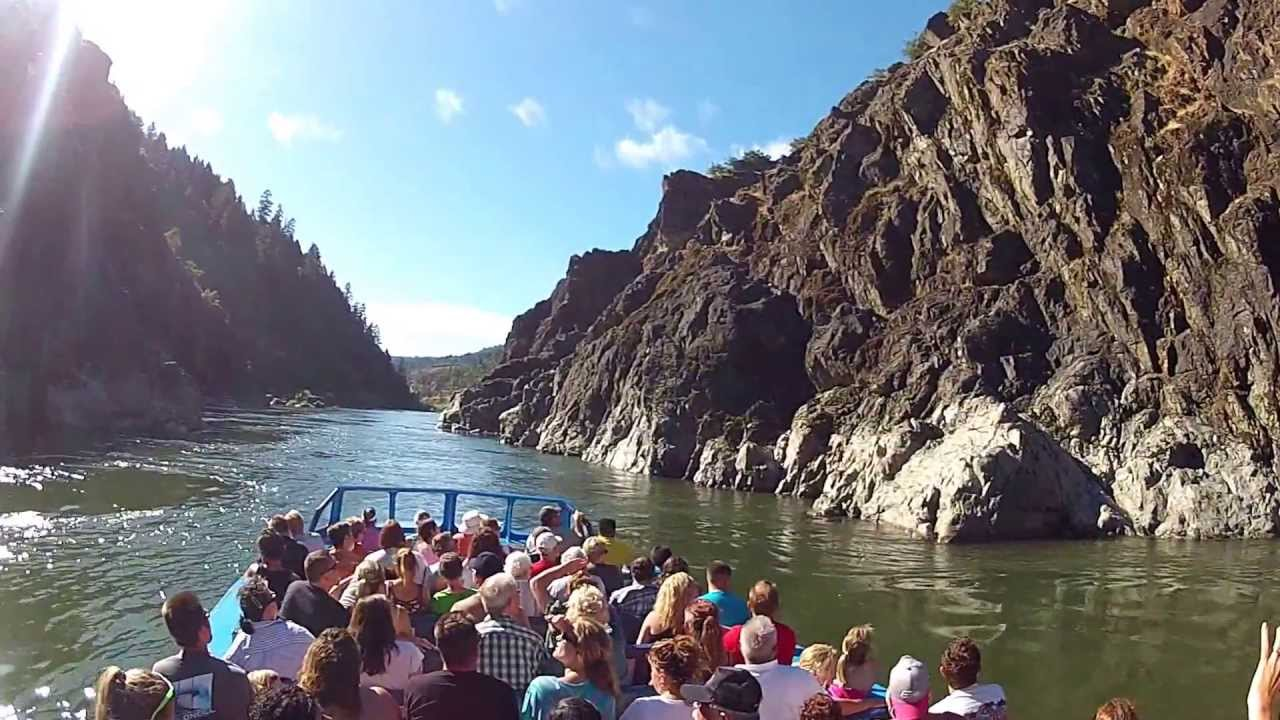 Hell Gate Jet Boat - YouTube
