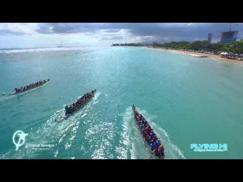 2015 Dragon Boat Races Hawaii - DJI Inspire - Phantom 3 Professional - 4K