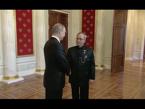 Pranab Mukherjee Attends Russia's Victory Day Celebrations